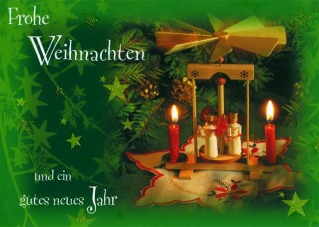 Поздравление с немецким рождеством с переводом на русский